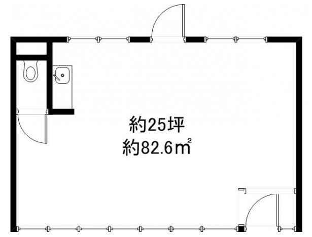 守山市 JR守山駅徒歩8分!1階約24坪テナント!