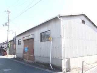 野洲市 JR野洲駅徒歩18分 約56坪倉庫テナント