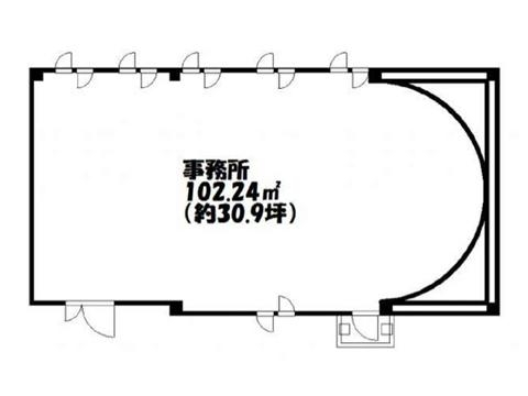 野洲市 JR野洲駅北口から徒歩3分 オフィス向けテナント!