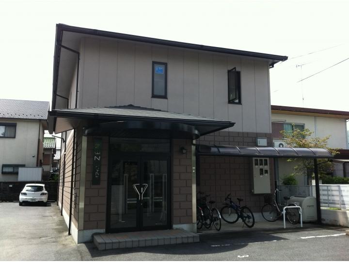 大津市北大路 JR石山駅徒歩8分、空調設備完備、事務所仕様2F約10坪テナント
