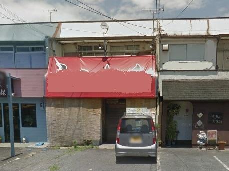 栗東市安養寺 JR手原駅徒歩10分 飲食店可能 住居付店舗52.7坪。