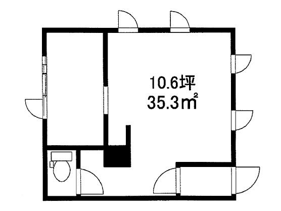 湖南市 JR草津線甲西駅徒歩6分 1階店舗テナント※防音設備有