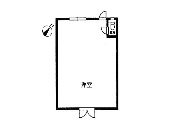 甲賀市 近江鉄道水口城南10分 2F約13坪事務所向けテナント