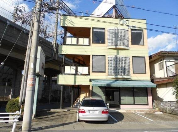 大津市 JR湖西線唐崎駅徒歩7分 一棟貸し約43坪店舗事務所テナント 駐車場賃料に含む。