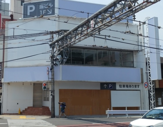 浜大津駅前 視認性抜群の一棟貸しテナント