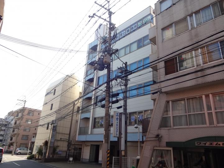 大津市 JR瀬田駅徒歩4分! 5F約31坪事務所仕様テナント
