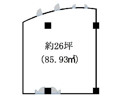 近江八幡市 イオン近江八幡店の隣!事務所・教室向きテナント