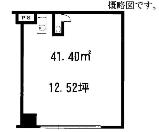草津市 JR草津駅徒歩2分!!1階約12坪テナント