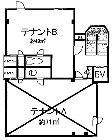 栗東市 飲食ビル 5F約14坪スナックテナント