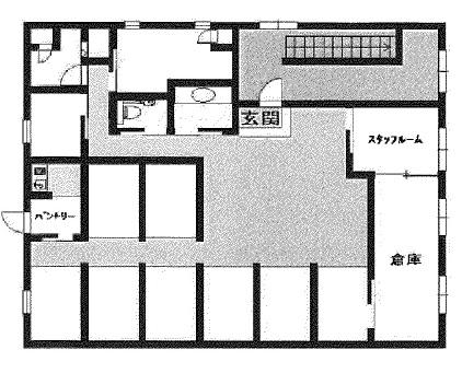 大津市 JR膳所駅徒歩2分 ときめき坂通り沿い2F約48坪テナント
