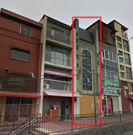 大津市 JR石山駅徒歩4分 テナントビル3-4階貸テナント