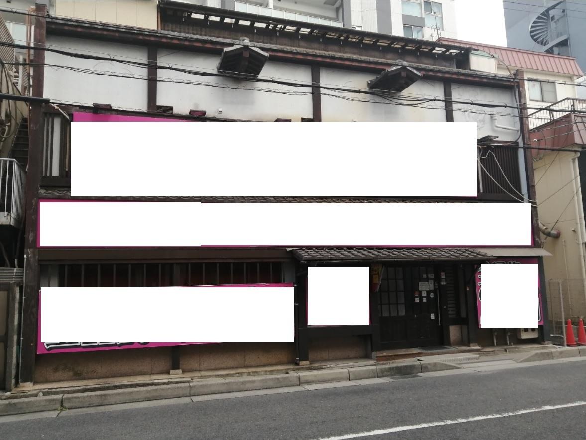 大津市 JR石山駅徒歩1分 飲食居抜き2階約31坪テナント