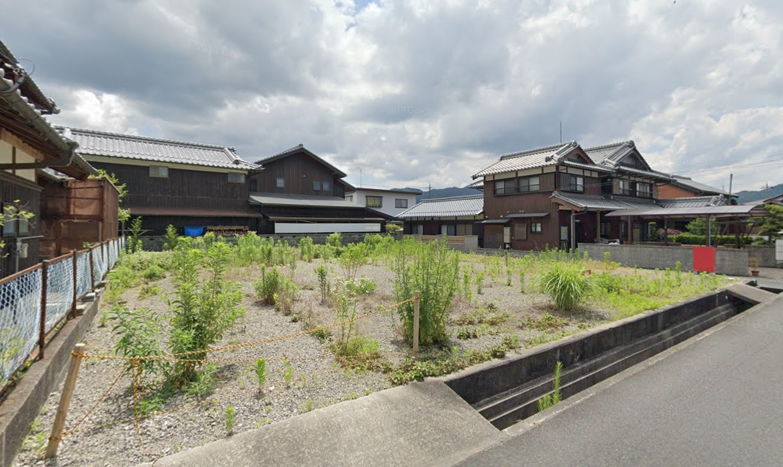 甲賀市 JR草津線貴生川駅徒歩5分 約102坪貸土地