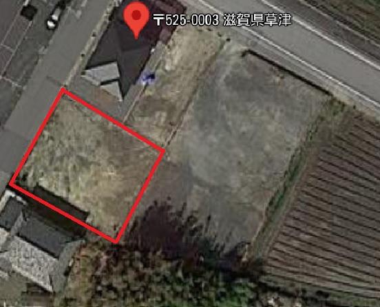 草津市 長束町エリア 約97坪 資材置場向き貸地