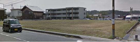 甲賀市 JR草津線甲賀駅徒歩3分 貸土地 店舗用地に適しています