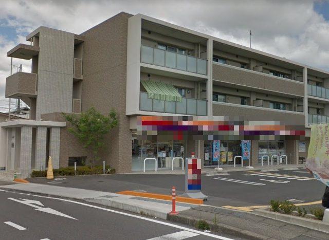 草津市上笠エリア 近隣スーパー有 生活道路沿い1F約60坪テナント コンビニ跡