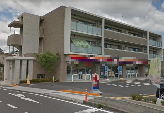 草津市上笠 近隣スーパー有 生活道路沿い1F約60坪テナント コンビニ跡