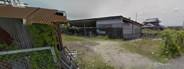 野洲市 土地約171坪。資材置場に適す。