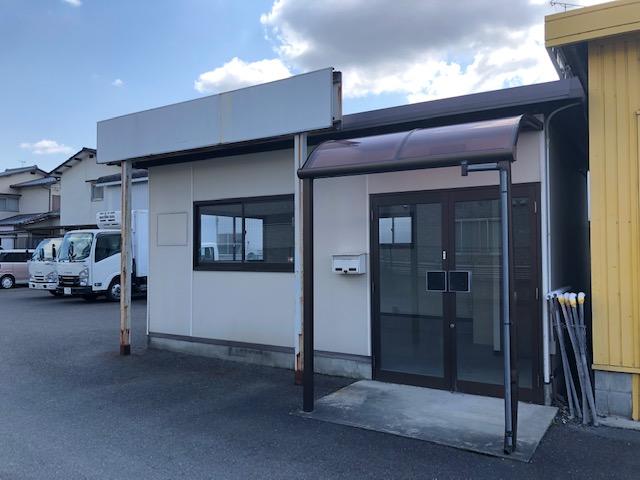 草津市 幹線道路に面した 営業事務所向き1階約5坪テナント