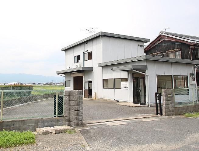 草津市 JR草津駅26分 倉庫付事務所テナント