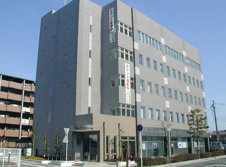 栗東市綣テナントビル JR栗東駅徒歩3分 3階OAフロア約60坪事務所向けテナント