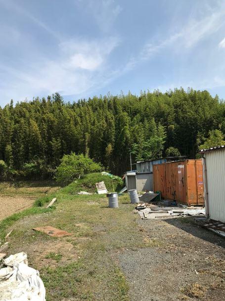 大津市貸土地。名神大津インター近く、資材置き場に適す。