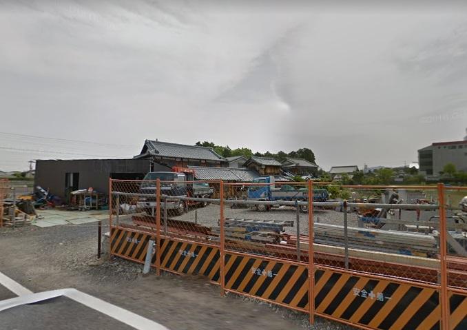草津市新浜エリア 資材置場向け約58坪貸し土地