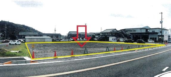 近江八幡市 国道に面した 約644坪沿道サービス業に適した事業用借地