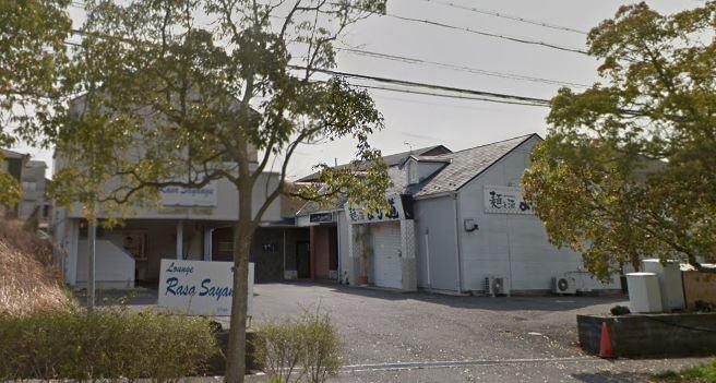 湖南市 飲食店居抜き店舗!上下水道料金、ゴミ処分代、駐車場代賃料に含む。