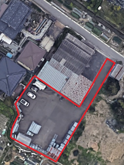 守山市播磨田エリア 約227坪借地