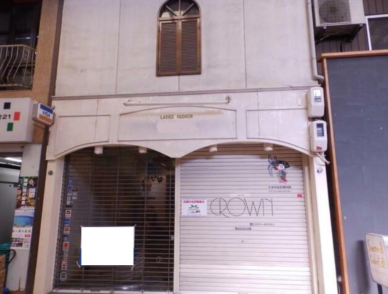 大津市 JR大津駅徒歩16分 商店街にある1階約9坪テナント