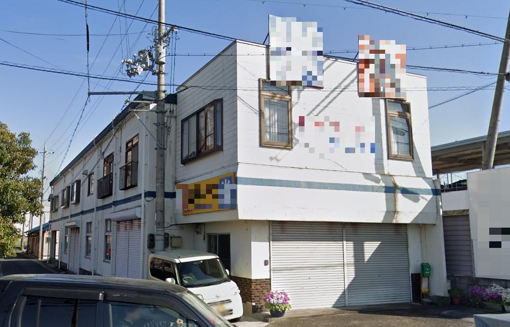 守山市 レインボーロード近く 約100坪店舗付住宅