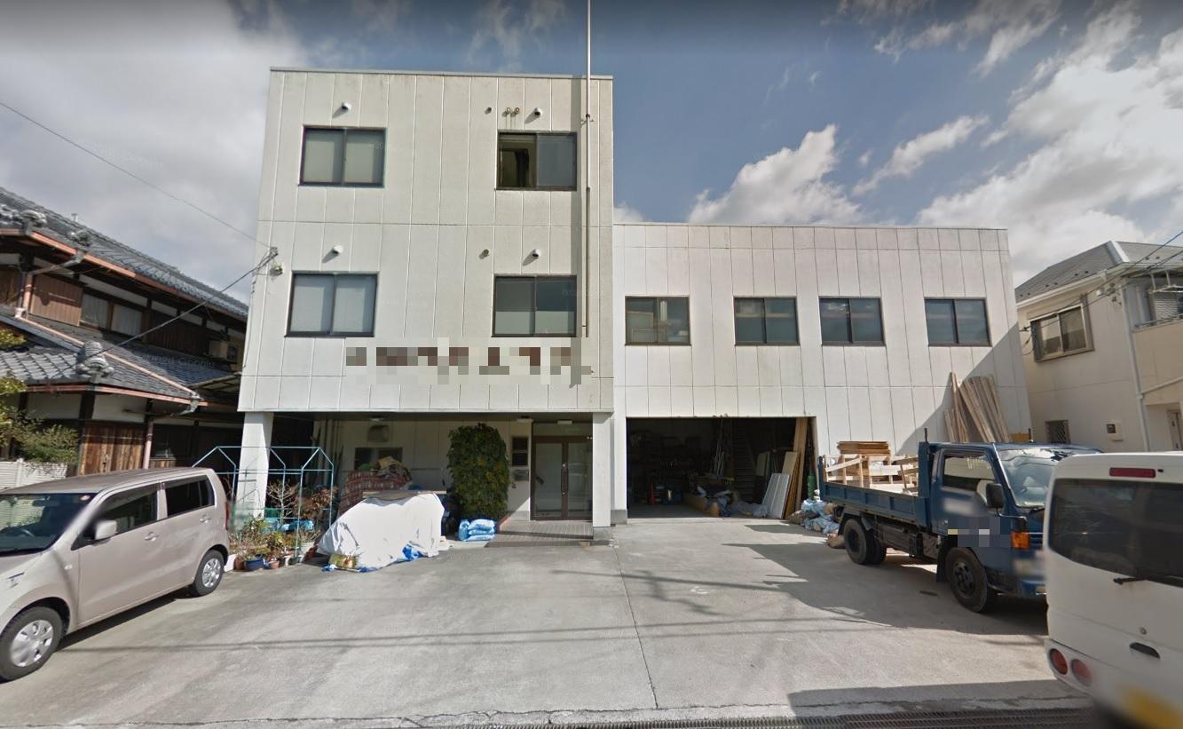 大津市 本堅田エリア 倉庫付き事務所 駐車場5台分込み♪