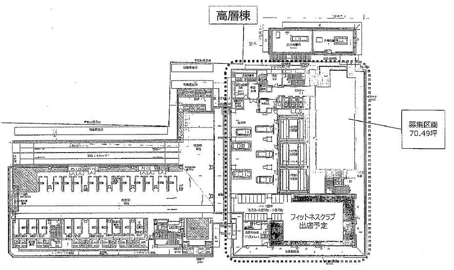 草津市 JR草津駅徒歩3分!新築2階70坪テナントです。塾、医院におすすめ♪