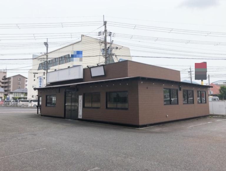 守山市 JR守山駅徒歩11分 一棟貸 飲食店跡店舗 駐車場複数台あり