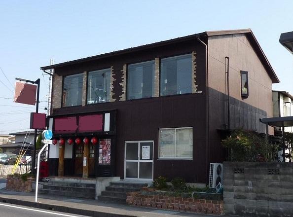 野洲市 幹線道路沿い 事務所・店舗向きの2F約29坪テナント