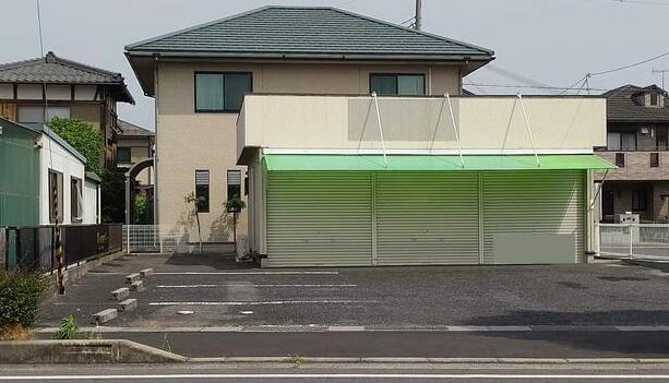 守山市 くすのき通り沿い 1階約14坪テナント 駐車場複数台あり♪
