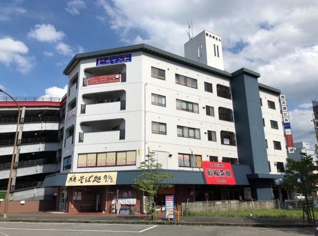 大津市 湖西線大津京駅前ロータリーに面す、4階約17坪店舗・事務所テナント☆