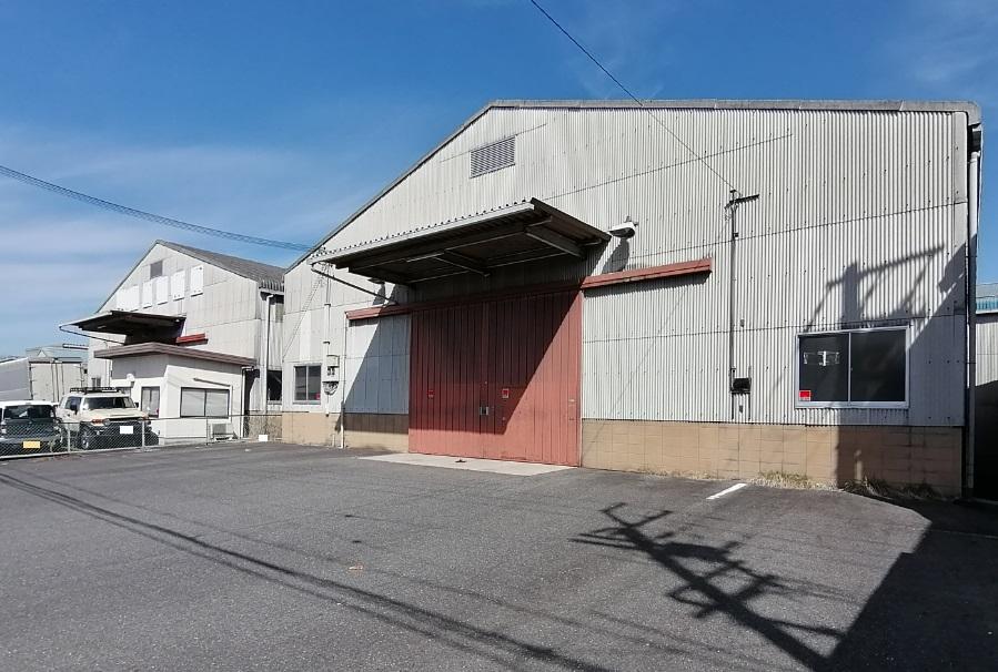 栗東市 国道1号線近くの約124坪倉庫テナント