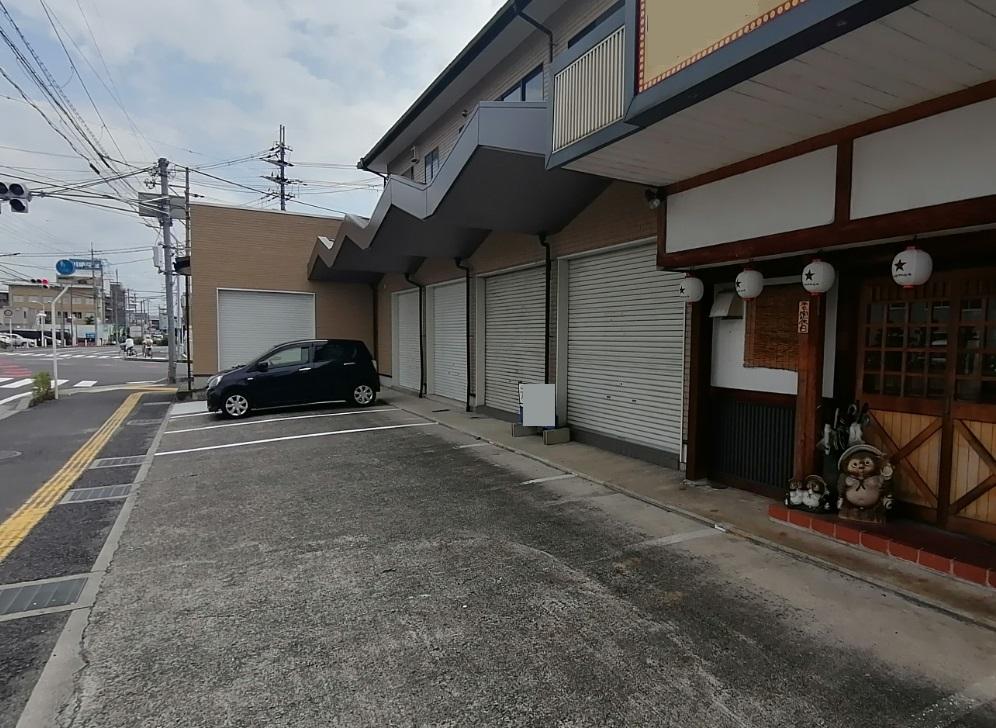 野洲市 2号線沿い視認性高い立地の約12坪店舗テナント