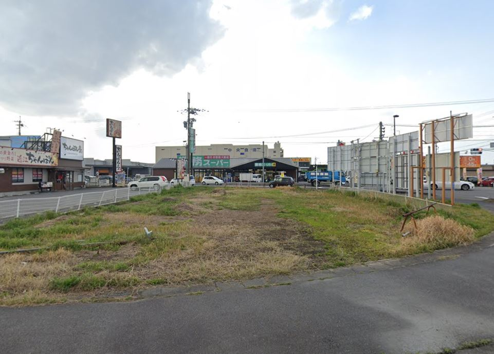 栗東市 国道8号線沿い 約163坪貸地 栗東ICまで約6分!