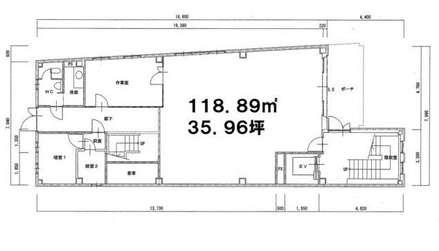 大津市 JR瀬田駅徒歩7分、学園通り沿い1F約35坪テナント