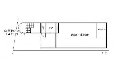 大津市 JR大津駅徒歩15分1階約15坪テナント