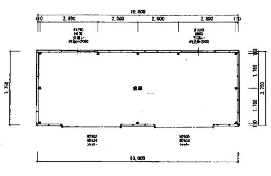 草津市 JR南草津駅徒歩18分 約11坪倉庫テナント ※近隣マンションが多いので騒音NG