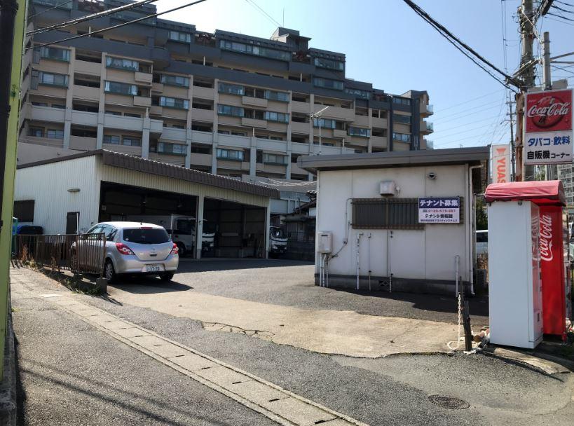 大津市 幹線道路沿い、大津インター近く事務所付倉庫テナント 倉庫部分約31坪