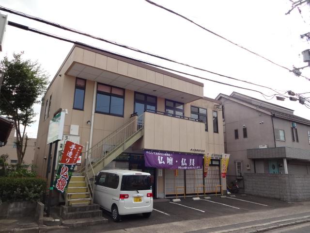 草津市 JR草津駅徒歩18分、事務所に適したテナント、駐車場1台付(軽専用)。