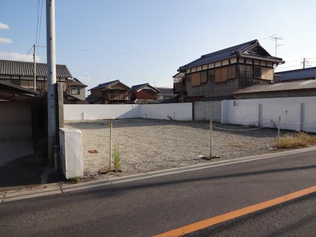 草津市 浜街道沿い約109坪資材置き場向き借地