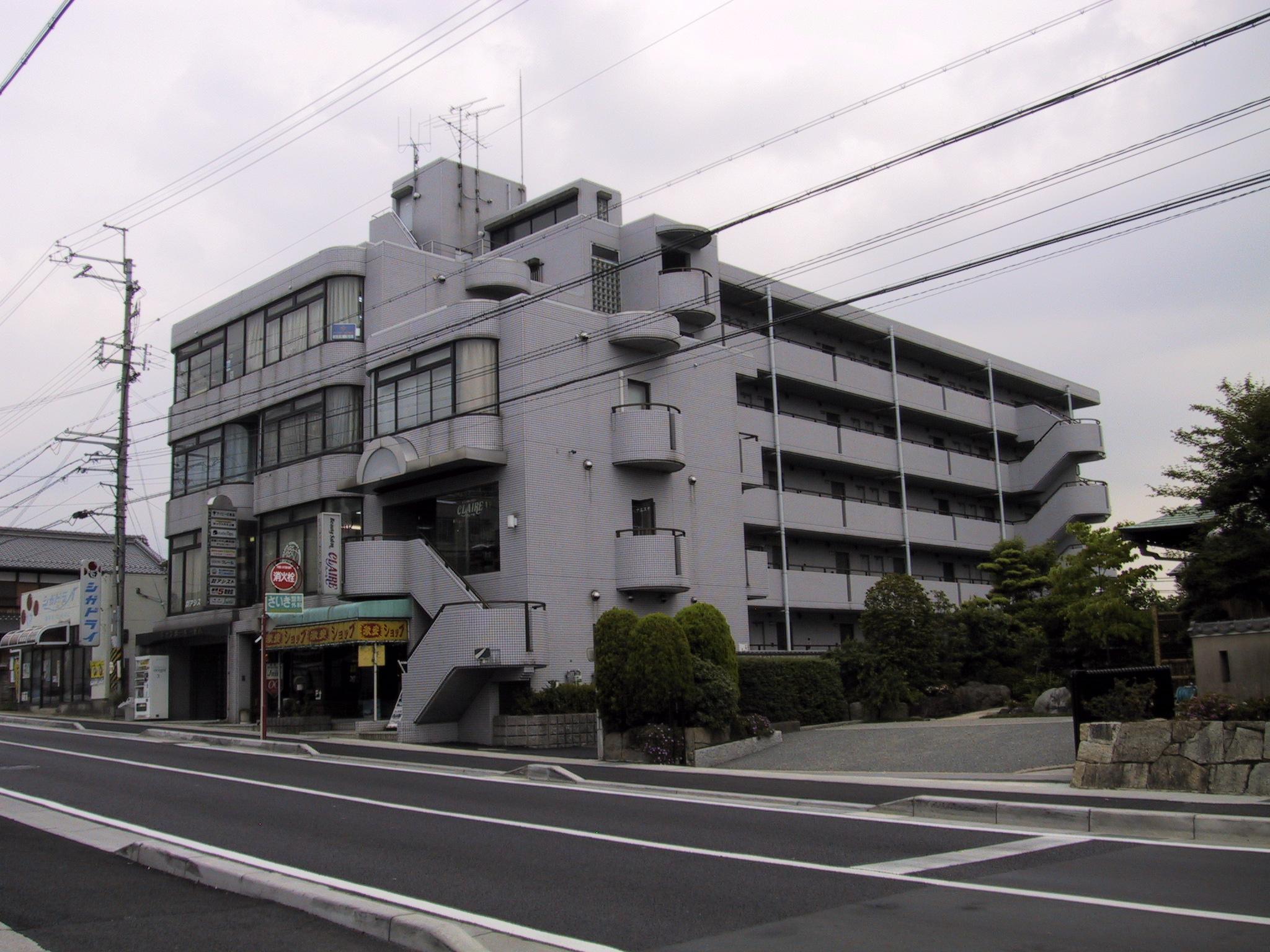 大津市 JR瀬田駅徒歩11分、瀬田学園通り沿い、4F事務所、教室に適したテナント