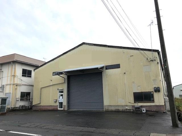 栗東市 大型倉庫 建物内2階建事務所有