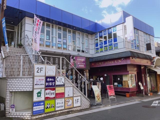 大津市 JR膳所駅徒歩3分 ときめき坂通り沿い2階約5坪テナント